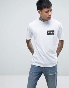 Heros Heroine T-Shirt In White With Logo - Белый