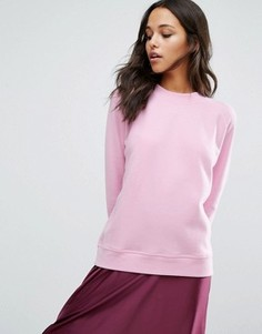 Розовый свитшот Samsoe & Samsoe - Розовый
