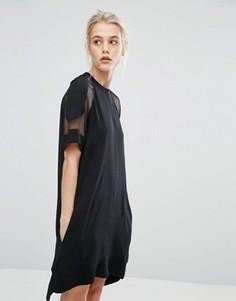 Платье Samsoe & Samsoe Mouton - Черный