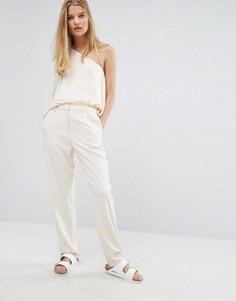 Кремовые брюки Samsoe & Samsoe - Кремовый