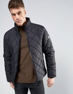Стеганая дутая куртка Blend - Черный