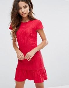 Облегающее платье BA&SH - Розовый Ba&Sh