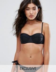 Комбинируемый бикини топ-бюстье South Beach - Черный