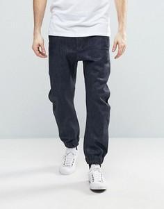 Суженные джинсы с манжетами G-Star - Темно-синий