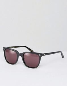 Квадратные солнцезащитные очки в черной оправе Raen Arlo - Черный