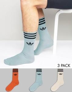 3 пары носков adidas Originals - Мульти