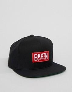 Бейсболка Brixton Langley - Черный