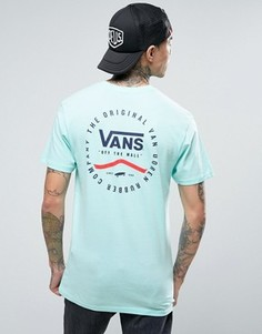 Зеленая футболка Vans Original Rubber Co. VA2XCSM2T - Зеленый