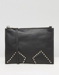 Urbancode Black Cross Body with Studded Inserts - Черный