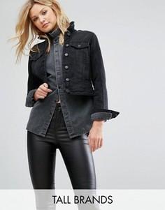 Джинсовая куртка Vero Moda Tall - Черный
