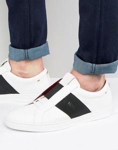 Кроссовки с эластичными вставками HUGO by Hugo Boss - Белый