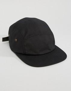 5-панельная кепка 7X - Черный
