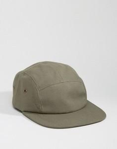 5-панельная кепка 7X - Зеленый