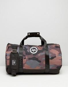 Камуфляжная сумка дафл Hype - Мульти