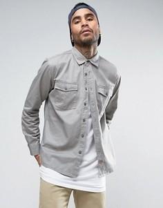 Рубашка классического кроя Brixton - Серый