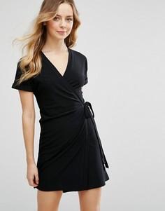 Платье с запахом Parisian - Черный