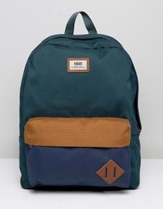 Зеленый рюкзак Vans Old Skool - Зеленый