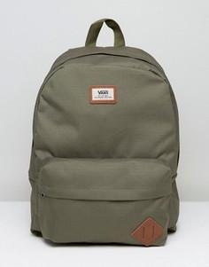 Рюкзак цвета хаки Vans Old Skool - Зеленый