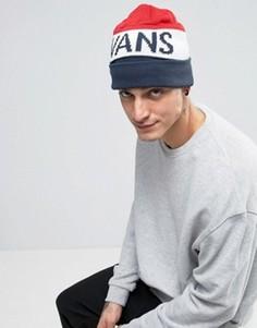 Синяя шапка-бини Vans - Синий