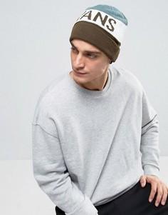 Серая шапка-бини Vans - Серый