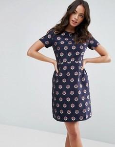 Платье с цветочным принтом Sugarhill Boutique - Черный