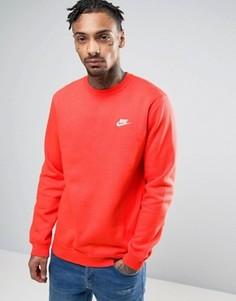 Оранжевый свитшот Nike 804340-852 - Оранжевый