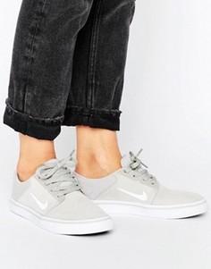 Бежевые кроссовки Nike SB Portmore - Бежевый