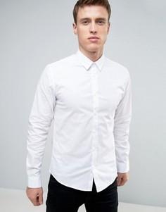 Белая рубашка стандартного кроя Solid - Белый