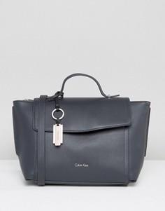 Темно-синяя сумка-тоут Calvin Klein - Синий