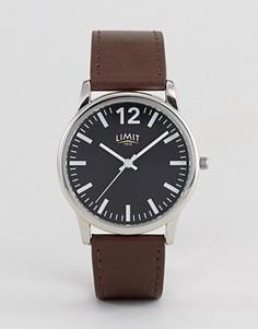 Коричневые часы с черным циферблатом Limit эксклюзивно для ASOS - Коричневый