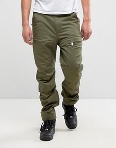 Зауженные брюки-карго G-Star Rackam - Зеленый