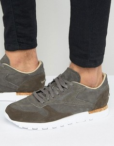 Reebok Classic Leather LST Trainers In Grey BD1903 - Серый