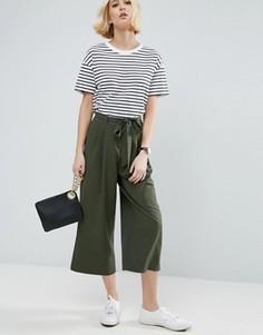 Юбка-брюки с поясом ASOS Tailored - Зеленый