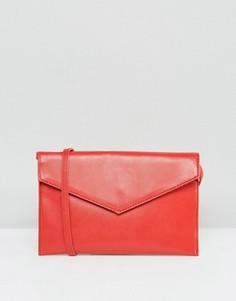 Сумка-конверт через плечо ASOS - Красный