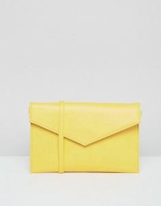 Сумка-конверт через плечо ASOS - Желтый