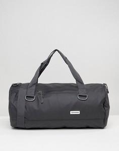 Черная сумка дафл с прорезиненной отделкой Converse - Черный