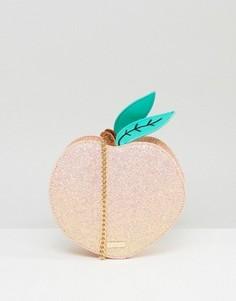 Сумка через плечо в виде персика Skinnydip - Оранжевый