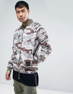 Cayler & Sons Bomber Jacket In Camo - Розовый