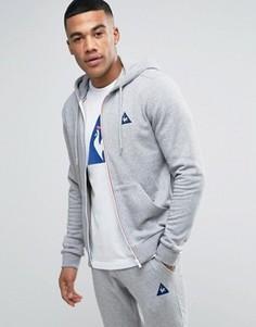 Le Coq Sportif Full Zip Hoodie In Grey 1710371 - Серый