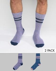 Комплект из 2 пар спортивных носков ASOS - Мульти