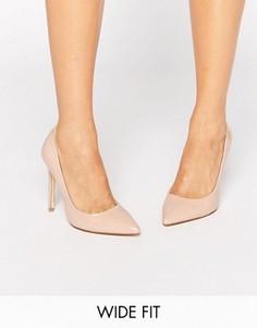 Светло-бежевые туфли‑лодочки для широкой стопы Faith Chloe - Бежевый