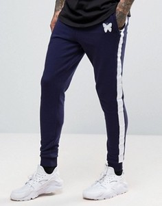 Good For Nothing Skinny Fit Joggers In Navy - Темно-синий