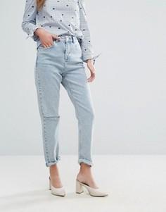Джинсы в винтажном стиле Miss Selfridge - Синий