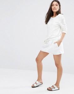 Юбка с сетчатой отделкой Nike Premium - Белый