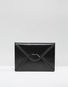 Клатч-конверт Lulu Guinness Catherine - Черный
