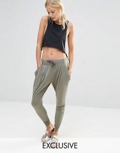 Гаремные брюки цвета хаки Nocozo - Зеленый