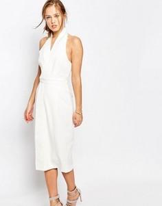 Платье с лямкой через шею Keepsake White Shadows - Белый