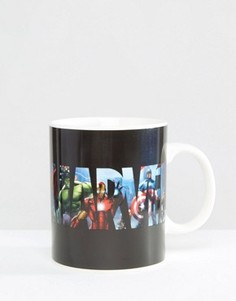 Кружка с меняющимся под воздействием тепла рисунком Marvel - Мульти Gifts