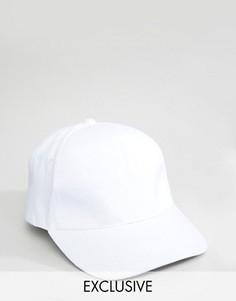 Бейсболка с логотипом сзади Reclaimed Vintage - Белый