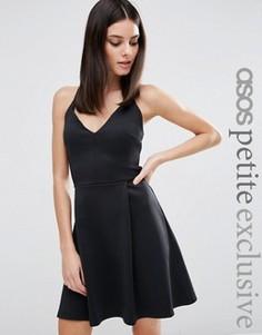 Платье для выпускного ASOS PETITE - Черный